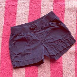 Faded Glory Navy Blue Girls' Shorts-size S 6/6x